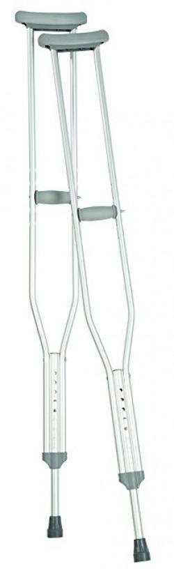 Aluminum crutches - 1 ea