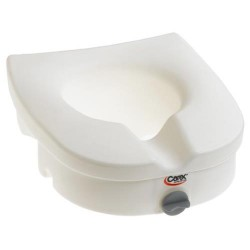 Carex E-Z lock raised toilet seat - 1 ea