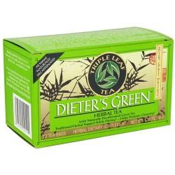 Triple leaf tea - dieter's green herbal tea - 20 tea bags