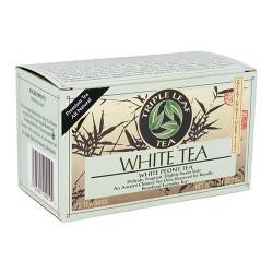 Triple leaf tea white peony tea, all natural - 20 tea bags, 6 pack