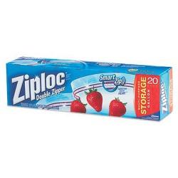 Ziploc Storage Bags 1 Gallon Size - 20 ea / Box, 12 Boxes