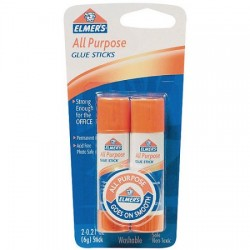 Elmers all purpose glue sticks twin pack - 6 ea