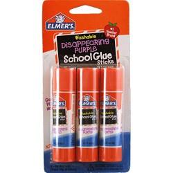 Elmer's Disappearing purple school glue sticks - 0.63 oz