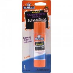Elmers Washable School Glue Stick , Purple - 6 ea