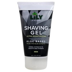 Lily Of The Desert, shaving gel ultra moisturizing for men- 6 oz
