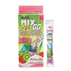 Lily of the desert strawberry/kiwi aloe drink - 5 ea, 10 pack
