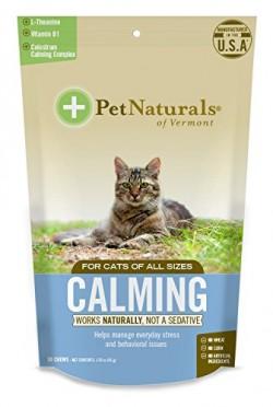 Pet naturals of VT calming supplements for cats - 30 ea