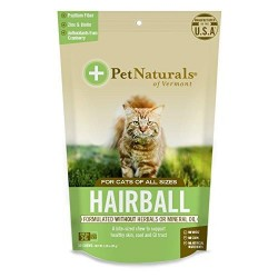 Pet naturals of vermont hairball chew for cats - 30 chews
