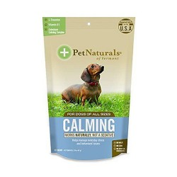 Pet Naturals of vermont calming chews For dogs and cats - 30 ea