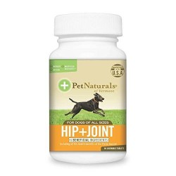 Pet natural's of vermont hip plus joint supplement tablets for dogs - 90 ea