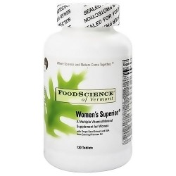 FoodScience Of Vermont womens superior Multi-vitamin  - 120 tablets