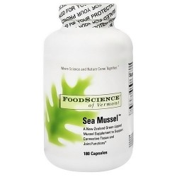 FoodScience Of Vermont sea mussel capsules - 180 ea
