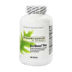 Sea mussel plus tablets by FoodScience Of Vermont - 180 ea