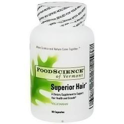 FoodScience Of Vermont superior hair capsules - 90 ea