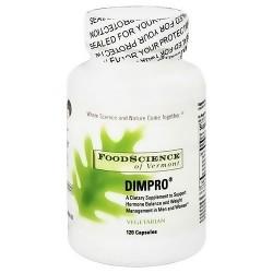 FoodScience Of Vermont dimpro (DIM Pro) capsules - 120 ea