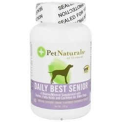 Pet Naturals of Vermont daily best senior dog natural hickory tablets - 60 chewables