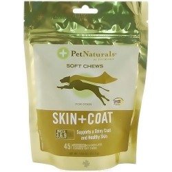 Pet Naturals of Vermont skin plus coat for dogs - 45 softchews