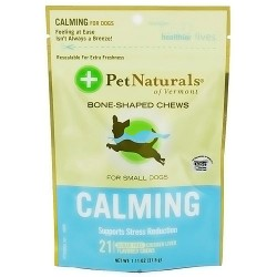 Pet Naturals of Vermont Calming stress reduction for small dogs - 21 softchews