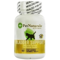 Pet Naturals of Vermont Bladder support chewable tablets for cats - 60 ea