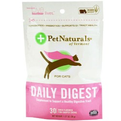 Pet Naturals of vermont daily probiotic for cat duck chewables - 30 ea