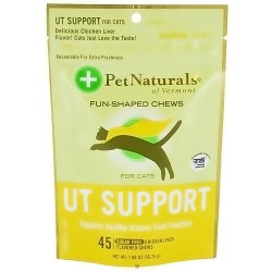 Pet Naturals of Vermont urinary tract support for cats - 45 soft chews