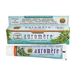 Auromere ayurvedic herbal toothpaste original licorice, 4.16 oz, 12 pack