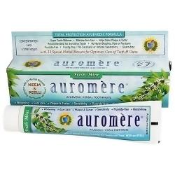 Auromere ayurvedic herbal toothpaste, Fresh mint - 4.16 oz