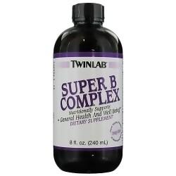 Twinlab Super B Complex Liquid, Nutritionally supports - 8 oz