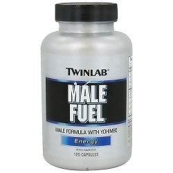 Twinlab Male Fuel Energy Capsules, Dietary Supplement - 120 ea