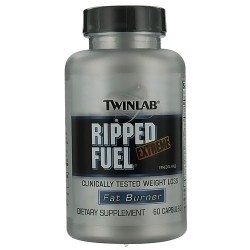 Twinlab Ripped Fuel Extreme fat burner dietary supplement capsules - 60 ea