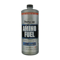 Twinlab Amino Fuel Anabolic Liquid For Lean Muscle, Orange - 32 oz