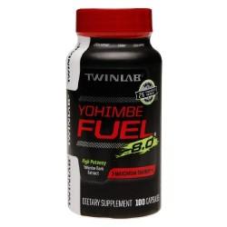 Twinlab twl yohimbe fuel diet supplement capsules - 100 ea