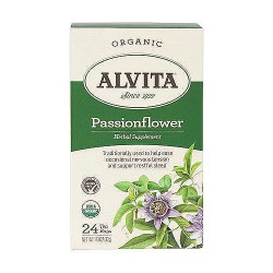 Alvita Organic Herbal supplements Tea Bags, Passionflower - 24 bags