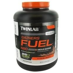Twinlab Gainers Fuel 680 Chocolate Milkshake, Xtreme mass - 6.17 lbs