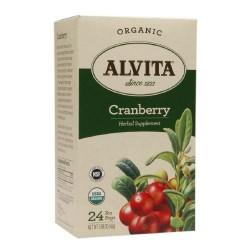 Alvita - Organic Cranberry Tea - 24 Tea Bags