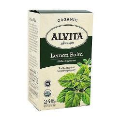 Alvita Organic Herbal Supplement Tea Bags, Lemon Balm - 24 ea