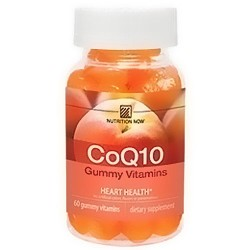 Nutrition Now chewable CoQ10 gummy vitamin for adult - 60 ea