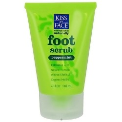 Kiss My Face foot scrub, Peppemint - 4 oz