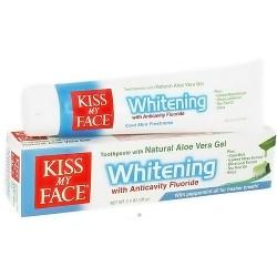 Kiss My Face Organic aloe vera gel anticavity toothpaste - 3.4 oz