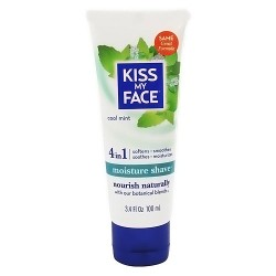 Kiss My Face Moisture shave, cool mint - 3.4 oz