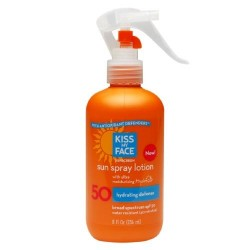 Kiss my face sun spray lotion spf 50 w hydresia - 8 oz