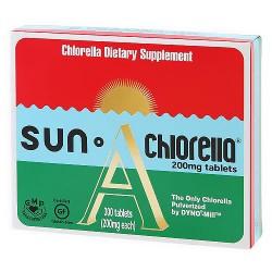 Sun Chlorella Dietary Supplement A 200 mg Tablets - 300 ea