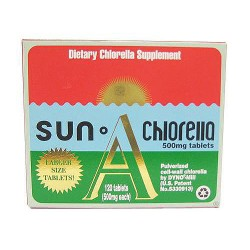 Sun Chlorella Dietary Chlorella Supplement A 500 mg Tablets - 120 ea