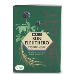 Sun Chlorella Sun Eleuthero 200 mg Tablets - 300 ea