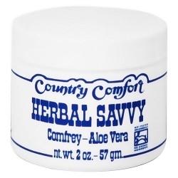 Country Comfort Herbal Savvy comfrey, Aloe vera - 2 oz, 2 ea