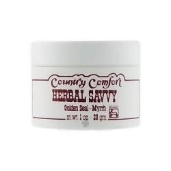 Country Comfort Herbal Savvy, Golden Seal-Myrrh, 1 oz