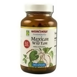 Natures Herbs Mexican wild yam capsules - 100 ea