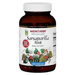 Natures Herbs sarsaparilla root capsules - 100 ea