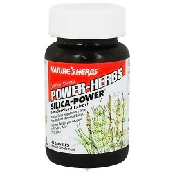 Natures Herbs Power-Herbs silica power 300 mg capsules - 60 ea