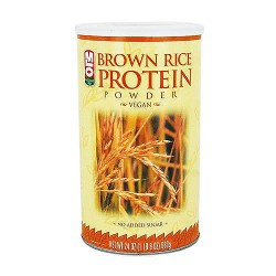 MLO sports nutrition brown rice protein powder - Bran Extract - 24 oz